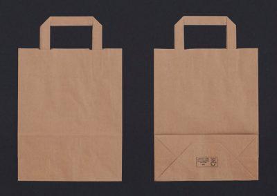 Flat handle paper bags 4