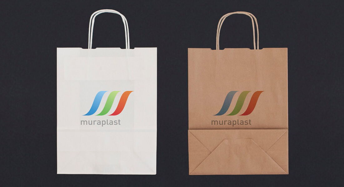 Paper bags with twist handle 2