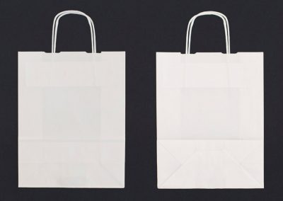 Paper bags with twist handle 3